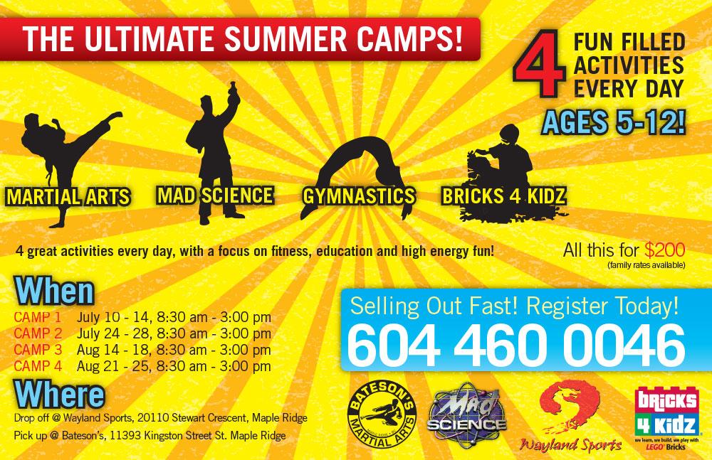 Summer Camp 2017 Flyer
